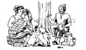 """Illustration from """"Là Où Il n'y a Pas de Docteur"""""""