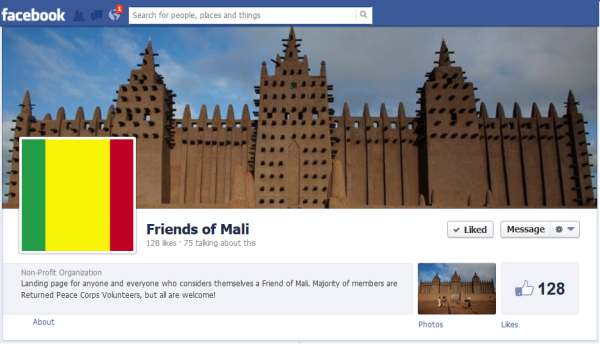 Friends of Mali on Facebook