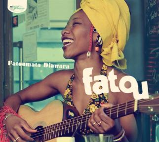 Cover of Fatoumata Diawara's album Fatou