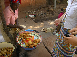 Street food in Sikasso