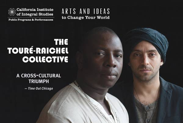 Toure-Raichel Collective Show in SF Poster